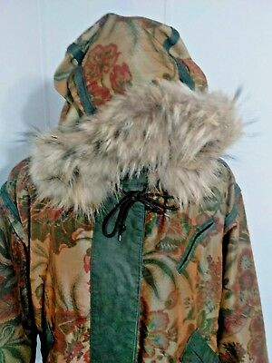 SALE!! J Percy For Marvin Richards Women's Jacket Genuine Fox Fur Vintage  L/XL