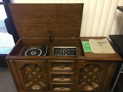 Vintage Zenith Console Stereo