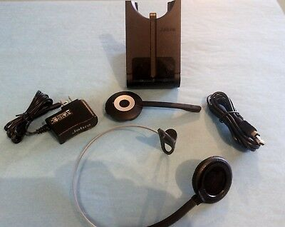Jabra PRO 930 Headset - Mono - 930-65-503-105 - Wireless - DECT