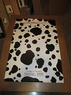 101 Dalmations 1995 one sheet - 27x40 rolled - free shipping