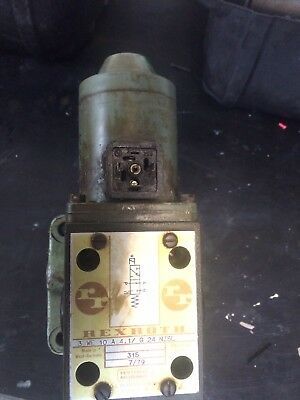hydraulic valve on sub plate Rex Roth