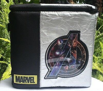 Disney & Marvel's Avengers: Infinity War Lunch Tote Box Bag NWT Back to School