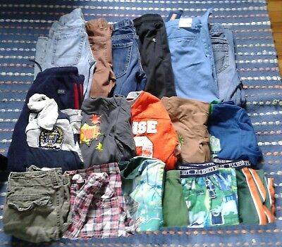 Lot of boy's clothing size 8, 18pc, shirts, shorts, pants, jeans, A&F, Gap, CP,