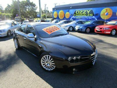 2006 Alfa Romeo 159 2.2 JTS Black Manual 6sp M Sedan