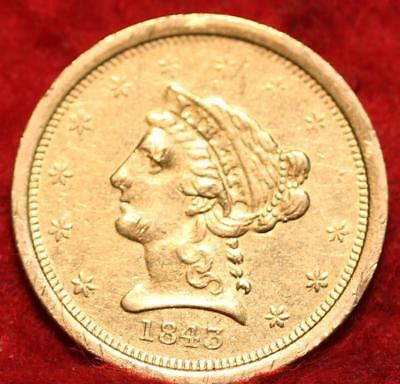 1843-O New Orleans  Mint Gold $2.50