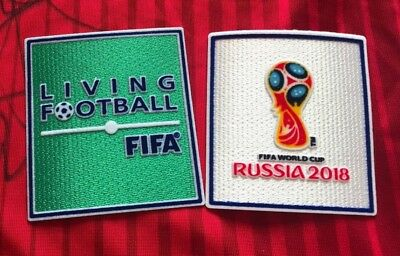 SALE! SET Russia 2018 World Cup Living Football Iron On Embroidered Patch Badge