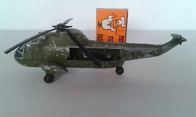 Diecast Dinky Sea King Helicopter