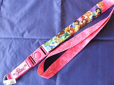 Disney * PRINCESSES * New Pin Trading Lanyard / Detachable Section