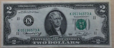UNITED STATES OF AMERICA, Two Dollars, Series 1976