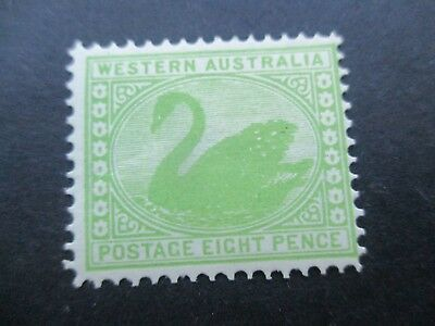 Western Australia Stamps: 8d Swan Mint Free POST (a42)