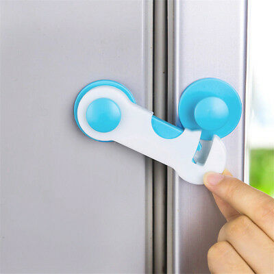 Baby Safety Fridge Cabinet Door Drawer Lock Toilet Security Kids Care Straps