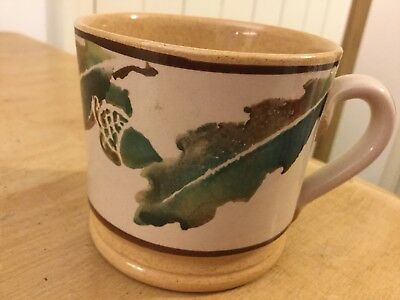 Nicholas Mosse Rare And Early Oakleaf And Acorn Baby Mug