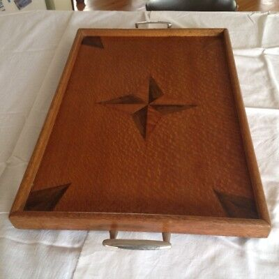 Antique / Classic Tea Tray - Hand made - Timber