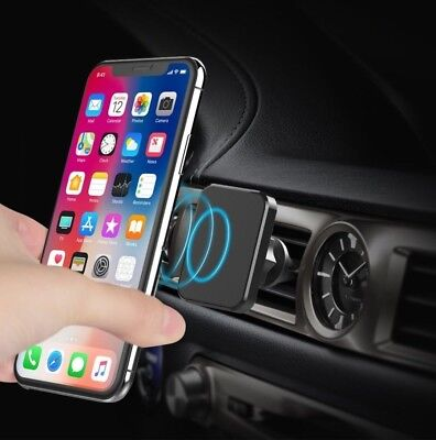 Car Phone Holder, Cradle Mount Magnetic, IPhone X/8/7/6S/5S/Galaxy/LG many more