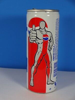 1997? Pepsi Cola Steel Can South Korea 250 ml