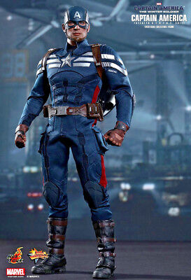 Captain America 2 -  CAPTAIN AMERICA Stealth STRIKE SUIT1:6 MMS242 Hot Toys NEW