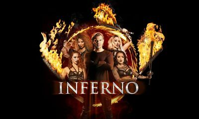 2 Tickets To Inferno: The Fire Spectacular At The Paris Hotel In Las Vegas