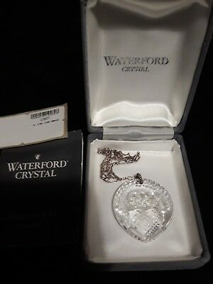 Waterford crystal vintage Claddagh Pendant.Love,Friendship,Loyalty. Mothers Day
