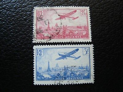 FRANCE - stamp yvert and tellier air n° 11 12 obl (A12)