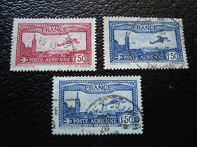 FRANCE - stamp yvert and tellier air n° 6 x2 5 obl (A12)