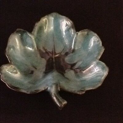 Blue Mountain Pottery Maple Leaf Tricket Dish