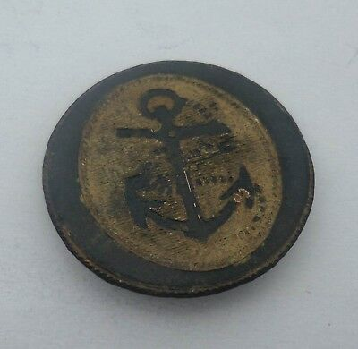 Royal Navy. Nelson. Midshipman's Uniform Button.