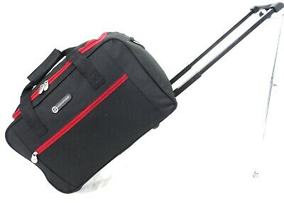 "XLarge 34"" Wheeled Sports Travel Holdall Luggage Cargo Weekend Business Bag Case"