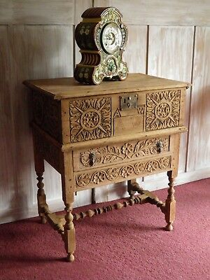 Lovely Antique Bible Box and Stand c1830s