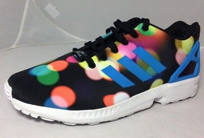 b94b980e4 ADIDAS ZX FLUX B23984 Blk Light Dots Torsion Marathon Running Shoes ...