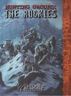 Werewolf The Forsaken: Hunting Ground: The Rockies