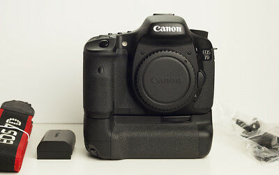 Canon EOS 7D (Body Only) with Battery Grip + Accessories
