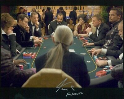 Tom So Photo Sgnd In Person - Casino Royale - D728
