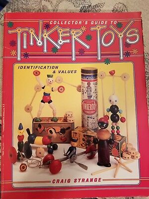 Identification/price Guide Book On Tinker Toys