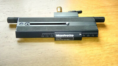 Manfrotto 454 Macro Plate, as seen it photo.