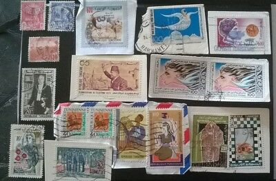 18 Tunisia / Tunisie & Rf Used Africa Stamps - See Photos