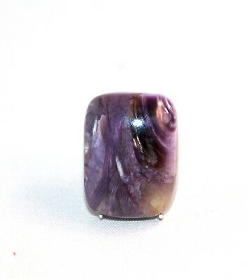 Natural Charoit, Charoite Cabochon Oval ,  Edelsteine 24x18x8mm, 36,5ct. (20)