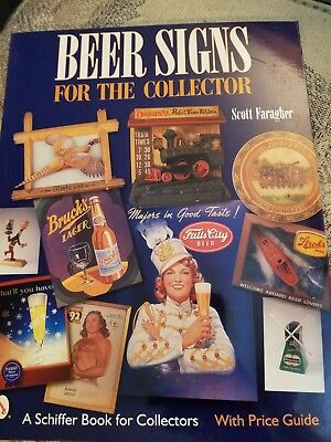 Beer Signs  Price  Guide Collector's Book 2001