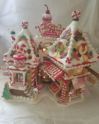 Dept 56 30th Anniversary Christmas Sweet Shop – North Pole LE 56791 numbered