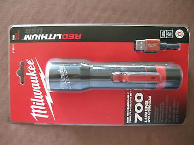 Milwaukee USB Rechargeable 700L Flashlight 2110-21 New
