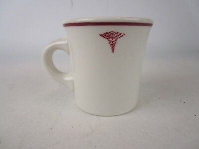 Vintage Buffalo China United States Army Medical Department Coffee Mug Cup