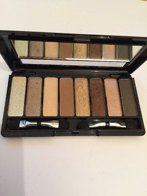 AVON 8 in 1 Eyeshadow Palette, THE NUDES, 10g Mirror Case - 72 - NEW