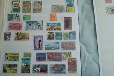 Nigeria  Stamps-Used Various  Total 30 Stamps