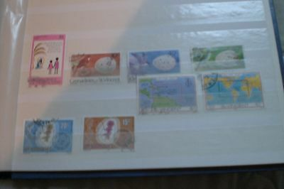 St Vincent Stamps-  8 Used Various Christmas/birds Eggs/on The Map/post Offices