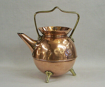 Iconic Arts & Crafts Christopher Dresser Benham & Froud Copper Brass Tea Kettle.