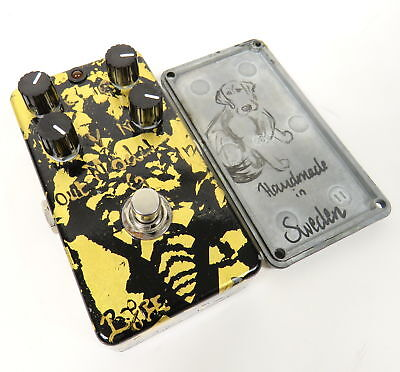Rare Bjfe Model G Overdrive Od Distortion Electric Guitar Effects Foot Pedal