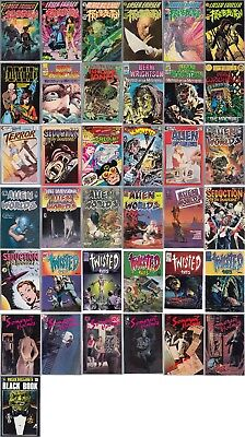 Comic Book Lot Eclipse PC Alien Worlds Twisted Tales Somerset Holmes Wrightson +