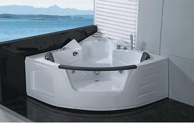 1 Person Corner Free Standing Spa Bath 16 Massage Jets 1.0HP A050B