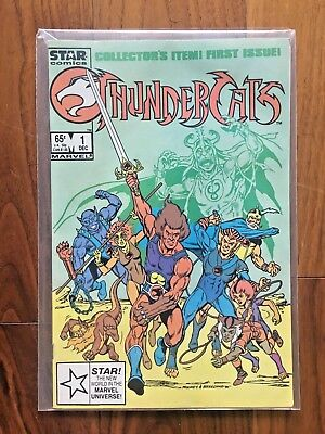 Thundercats (1st Series Marvel) #1 1985 VF-NM