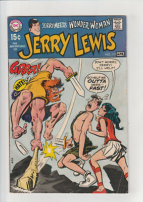 The Adventures of Jerry Lewis #117 (Mar-Apr 1970, DC) Wonder Woman VG+