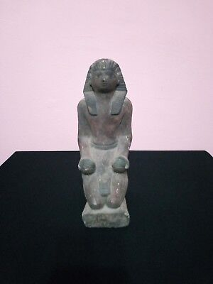 RARE ANTIQUE ANCIENT EGYPTIAN King Pharaoh of Statue Amenhotep III 1388-1351bc